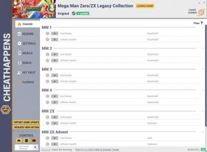 Mega Man Zero/ZX Legacy Collection Trainer for PC game version v1.0