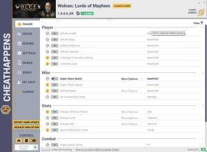 Wolcen: Lords of Mayhem Trainer for PC game version v1.0.8.0_ER