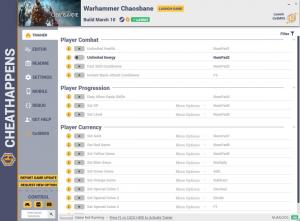Warhammer: Chaosbane Trainer for PC game version v03.12.2020