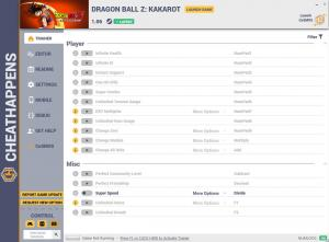 Dragon Ball Z: Kakarot Trainer for PC game version v1.06