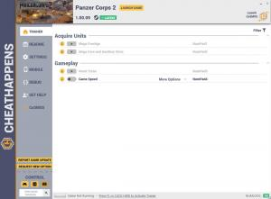 Panzer Corps 2 Trainer +4 v1.00.09 (Cheat Happens)