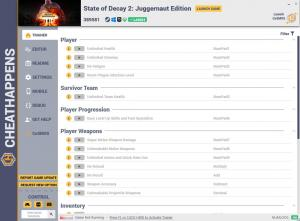 State of Decay 2: Juggernaut Edition Trainer for PC game version v389581