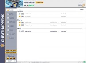 SnowRunner Trainer for PC game version v4.6