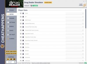 Drug Dealer Simulator Trainer for PC game version v1.0.4.11