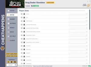 Drug Dealer Simulator Trainer for PC game version v1.0.5.2