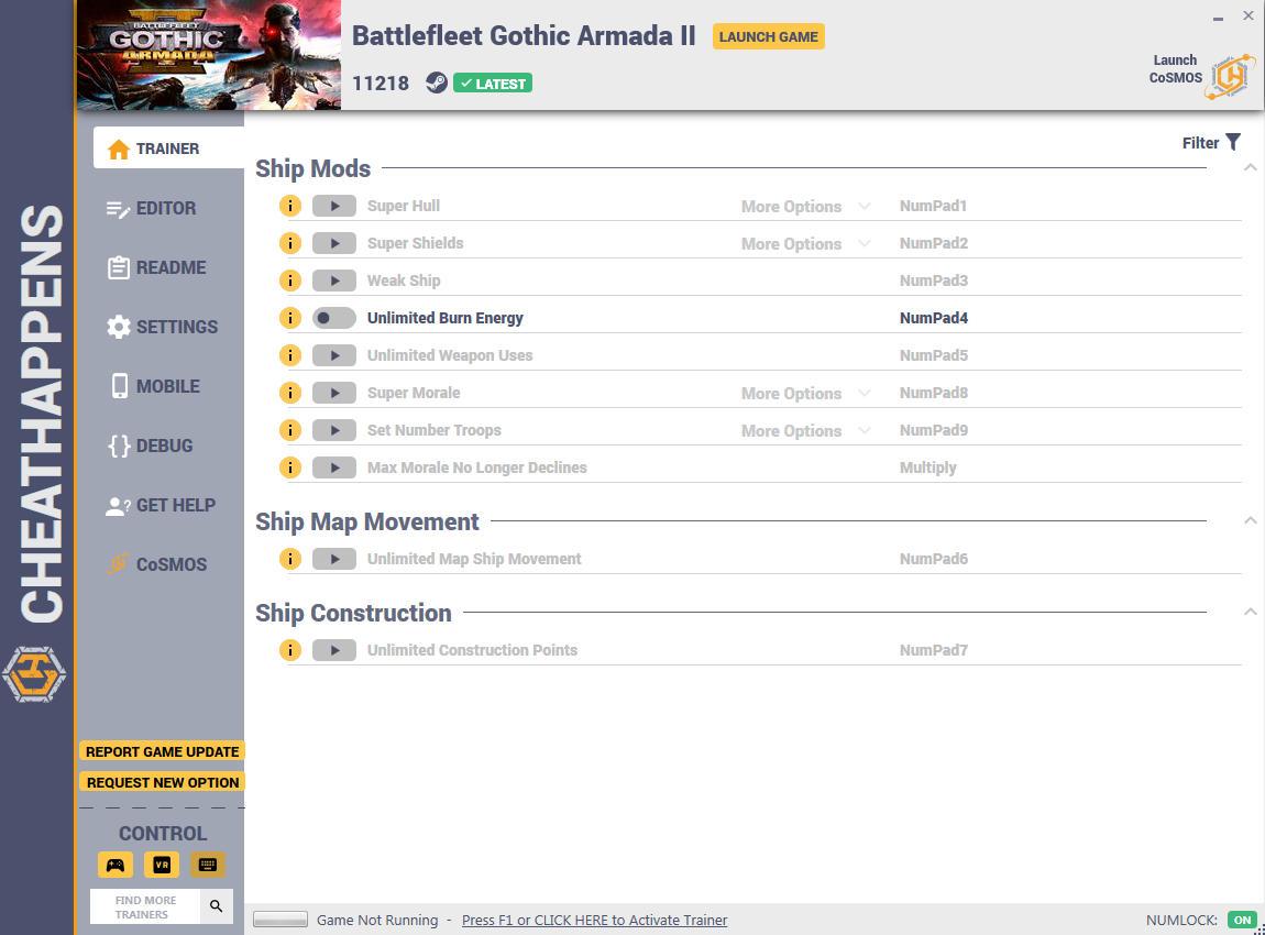 Battlefleet Gothic Armada Increase Fleet Points Mod