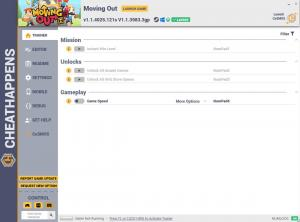 Moving Out Trainer for PC game version v1.1.4025.121s