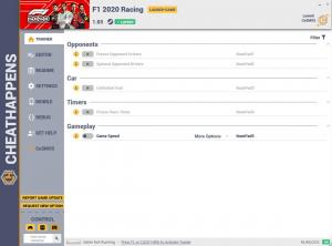 F1 2020 Trainer for PC game version v1.03