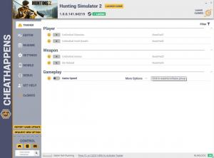 Hunting Simulator 2 Trainer for PC game version v1.0.0.141.64215