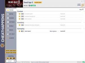 Dead Age 2 Trainer for PC game version v0.4.6