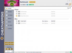 Battletoads Trainer for PC game version v1.4.1428.0