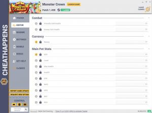 Monster Crown Trainer for PC game version v1.458