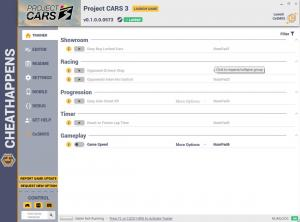 Project CARS 3 Trainer for PC game version v0.1.0.0.0573