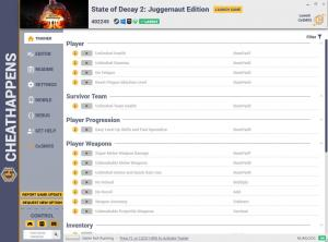 State of Decay 2: Juggernaut Edition Trainer for PC game version v402245