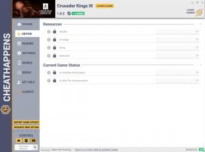 Crusader Kings 3 Trainer for PC game version v1.0.2