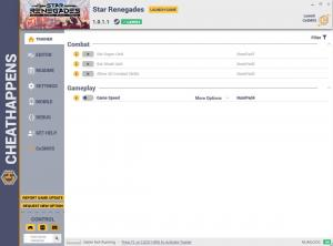 Star Renegades Trainer for PC game version v1.0.1.1