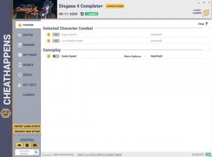 Disgaea 4 Complete Trainer for PC game version v1.0