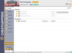 Star Renegades Trainer for PC game version v1.0.0.1-1.0.1.1