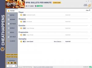 BPM: Bullets Per Minute Trainer for PC game version v1.0