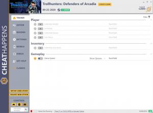 Trollhunters: Defenders of Arcadia Trainer for PC game version v1.0