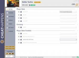 Stellar Tactics Trainer for PC game version  v0.502