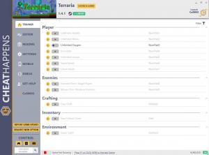 Terraria Trainer for PC game version v1.4.1