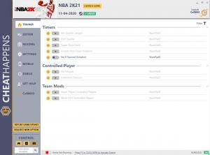 NBA 2K21 Trainer for PC game version v11.04.2020
