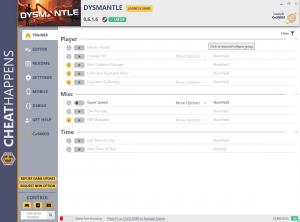 Dysmantle Trainer for PC game version v0.6.1.6