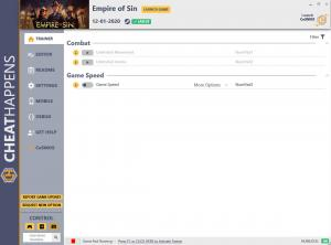 Empire of Sin Trainer for PC game version v1.0