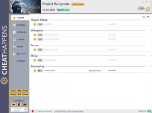 Project Wingman Trainer for PC game version v1.0
