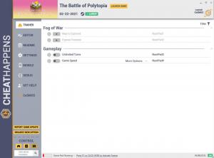 The Battle of Polytopia Trainer for PC game version v1.0