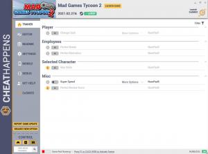 Mad Games Tycoon 2 Trainer for PC game version v2021.02.27A