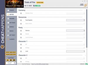 Trials of Fire Trainer for PC game version v1.0