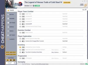 The Legend of Heroes: Trails of Cold Steel 4 Trainer for PC game version v1.2